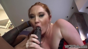 Redhead Mylie Moore playing with sex toys