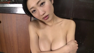 Raw sex with large tits japanese MILF