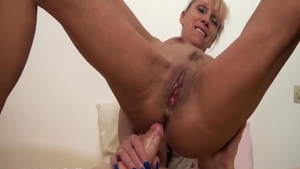 Slamming hard in company with very hot french chick