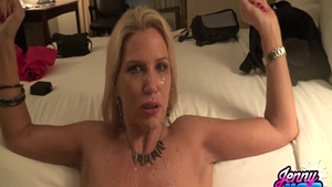 Big ass blonde babe crazy cock sucking