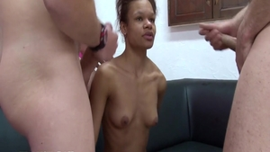 Hottest french chick wants hard nailining in HD