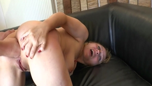 Hard ramming with glamour french slut