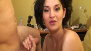 Erotic french amateur goes in for art plowing hard HD