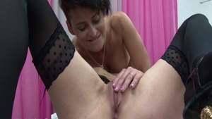 Loud sex along with passionate french mature