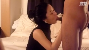 Orgy in company with korean MILF