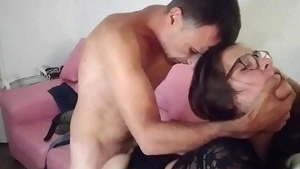 Amateur feels up to doggy