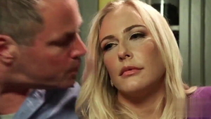 Nailed rough in company with american hotwife Angel Allwood