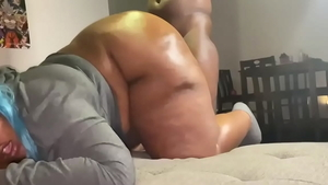 Nailed rough in the company of big ass ebony celebrity