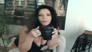 Sex scene together with mature