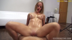 Nailed rough accompanied by busty czech buxom
