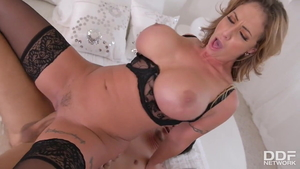 Hard sex with large tits Eva Notty as well as Mick Blue