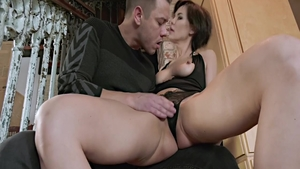 Rough sex along with super hot babe