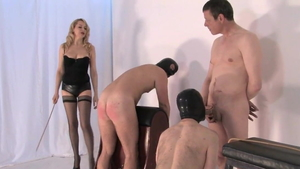 Bisexual MISTRESS ELEISE brutal whip in HD
