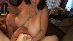 Hard nailining with young MILF
