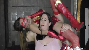 Slamming hard together with erotic amateur