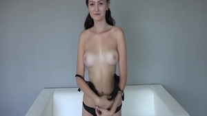 Pussy fucking at casting
