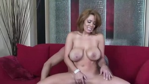 Super hot latina mature feels up to slamming hard