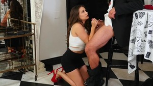Fucking together with hot brunette Cassidy Klein