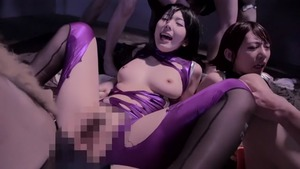 Creampie outdoors together with hairy chick Yui Hatano