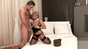 Large tits pornstar Lucy Love feels up to plowing hard